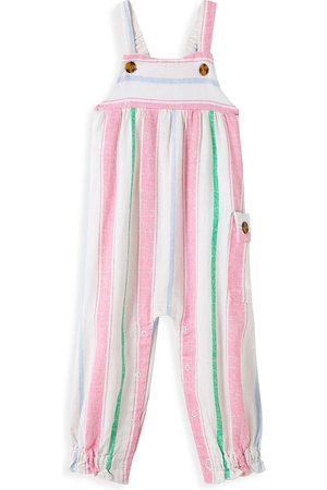 HABITUAL Girls Stockings - Baby Girl's Stripe Jumpsuit - Size 24 Months