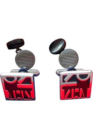 Kenzo Men Cufflinks - Multicolour Silver Plated Cufflinks