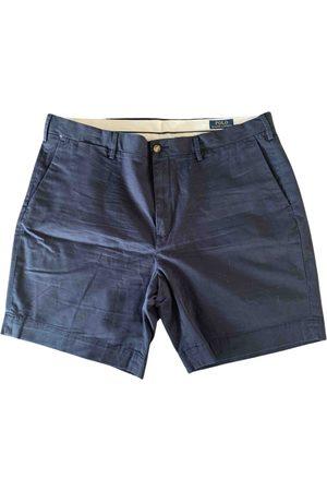 Polo Ralph Lauren Navy Cotton Shorts
