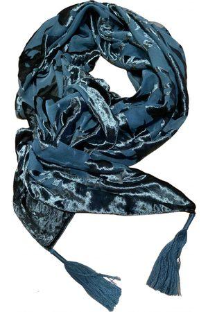 Mimco Turquoise Velvet Scarves