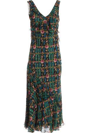 John Galliano Multicolour Silk Dresses