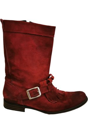Dsquared2 Suede Boots