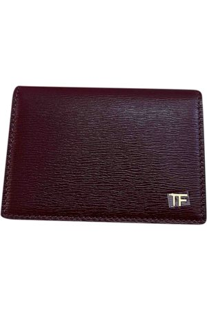 Tom Ford Burgundy Leather Small Bags, Wallets & Cases