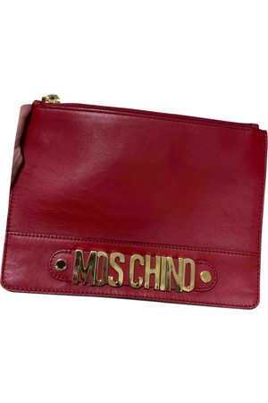 Moschino Leather Clutch Bags