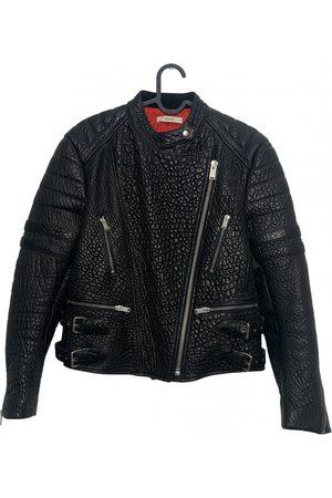 Céline Women Leather Jackets - Leather biker jacket