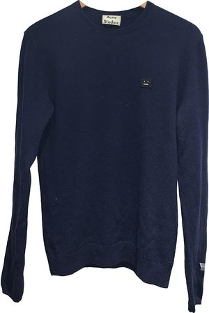 Acne Studios Navy Wool Knitwear & Sweatshirts