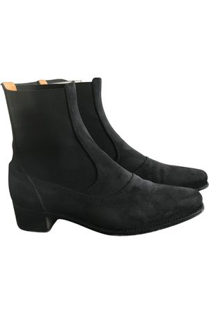 Ludwig Reiter Anthracite Suede Boots