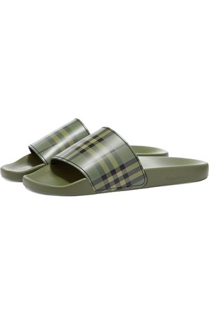 Burberry Men Sandals - Furley Check Slide
