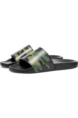 Burberry Men Sandals - Furley Camo Slide