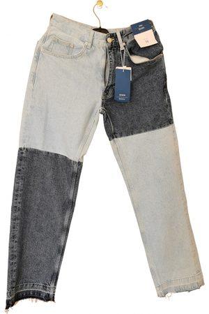 Bershka Multicolour Cotton Jeans
