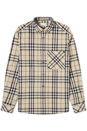 Burberry Men Shirts - Causey Multi Check Shirt