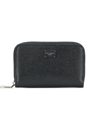Dolce & Gabbana Men Wallets - Logo patch continental wallet