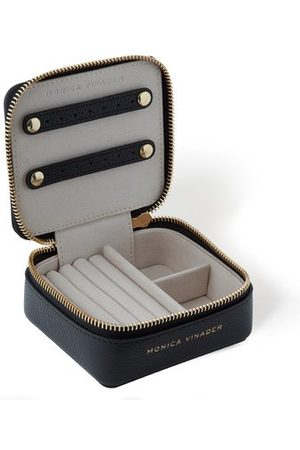Monica Vinader Bags - Personalised Leather Travel Box with dust bag