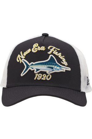 New Era Men Caps - Fishing Logo Trucker Cap
