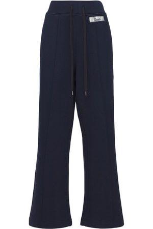 Marni Organic Cotton Wide Leg Sweatpants