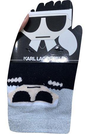 Karl Lagerfeld Multicolour Cotton Gloves