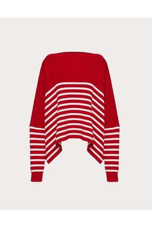 VALENTINO Cotton Sweater Women /ivory Cotton 100% L