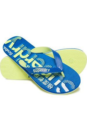 Superdry Men Flip Flops - Scuba Logo Faded Flip Flops