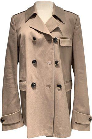 DRIES VAN NOTEN Camel Cotton Coats