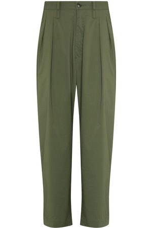 Wtaps Men Straight Leg Pants - Ripstop straight-leg trousers
