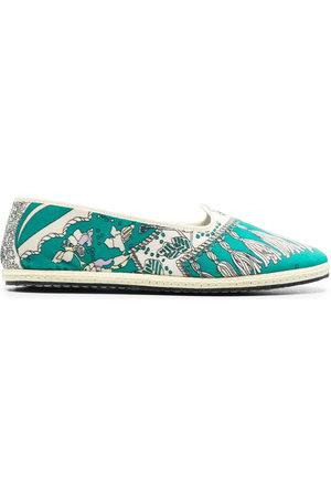 Emilio Pucci Women Slippers - Friulana Rugiada print slippers