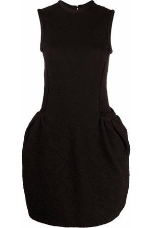 AZ FACTORY SuperTech-SuperChic peplum short dress