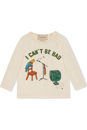 Gucci Long sleeves - Graphic-print long-sleeve sweatshirt