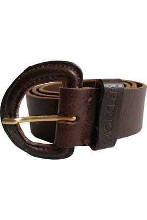 Moncler Leather Belts