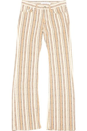 Isabel Marant Ecru Cotton - elasthane Jeans