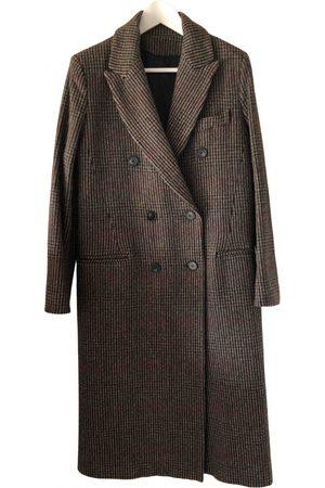 Harmony Multicolour Wool Coats