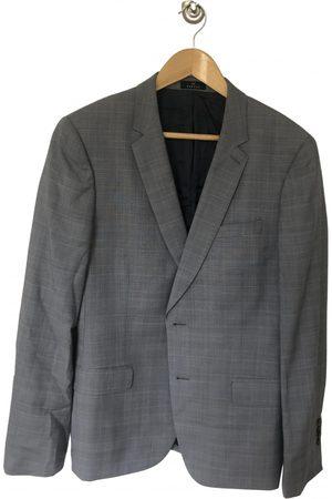 De Fursac Grey Wool Suits