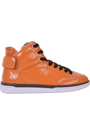 Dolce & Gabbana Patent leather high trainers