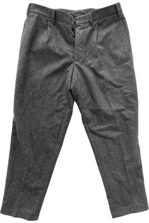 THE GIGI Anthracite Wool Trousers