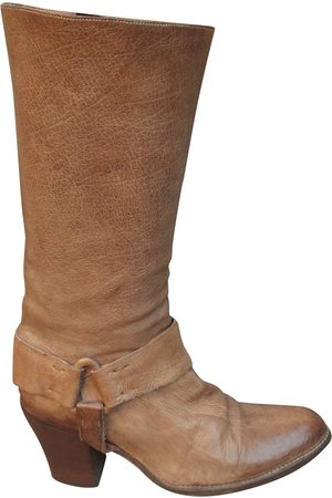 SARTORE Leather cowboy boots