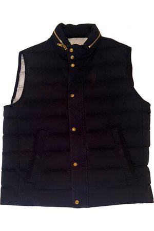 Moncler Navy Cotton Jackets