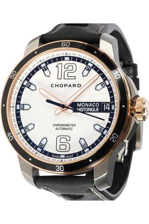 Chopard 18K Rose Gold And Titanium Grand Prix de Monaco Historique 168568-9001 Men's Wristwatch 44.5 MM