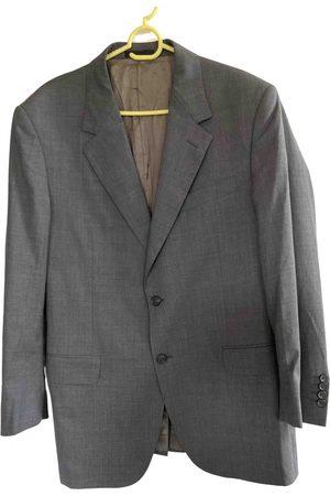 Lanvin Grey Wool Jackets