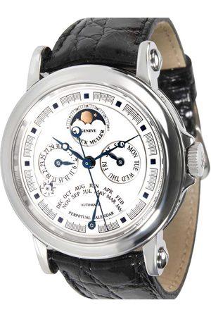 FRANCK MULLER Stainless Steel Perpetual Calendar 7000 QP A Men's Wristwatch 39 MM