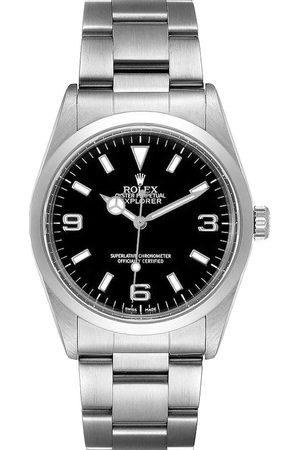 Rolex Stainless Steel Explorer I 14270 Men's Wristwatch 36 MM