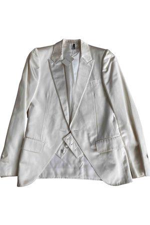 Dior Ecru Silk Jackets
