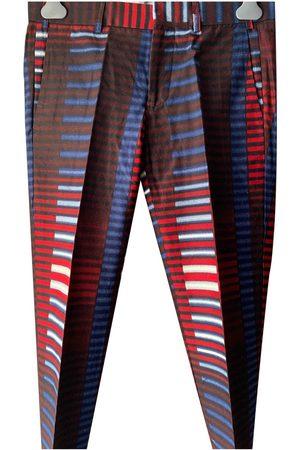 Stella Jean Multicolour Cotton Trousers