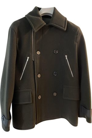 Hermès Khaki Wool Coats