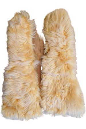 Marni Camel Wool Gloves