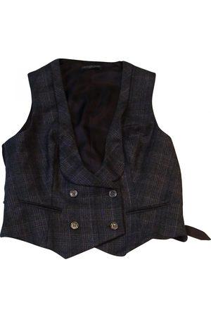 Alexander McQueen Grey Wool Jackets