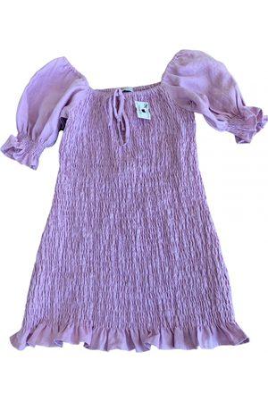 FAITHFULL THE BRAND Linen mini dress