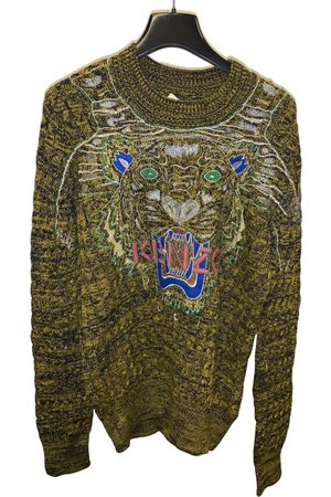 Kenzo Khaki Cotton Knitwear & Sweatshirts