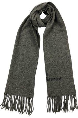 Vivienne Westwood Grey Wool Scarves & Pocket Squares