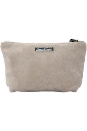 MAISON DE VACANCES Suede Clutch Bags