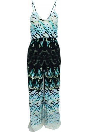 Roberto Cavalli Multicolour Silk Jumpsuits