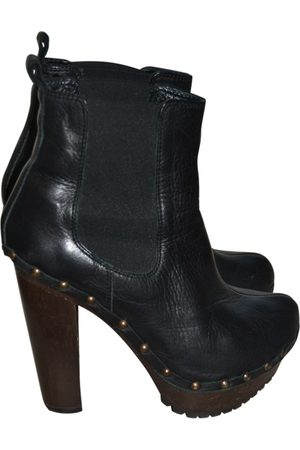 ISLO ISABELLA LORUSSO Leather Ankle Boots